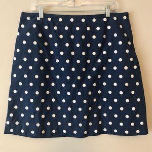 Talbots Polka Dot Skirt